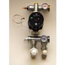 Pumpshunt - Gulvvarme shunt m. Grundfos Alpha2 pumpe - Pris komplett