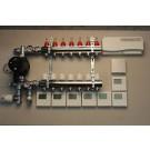 Gulvvarmestyring komplet system 7 kreds digital